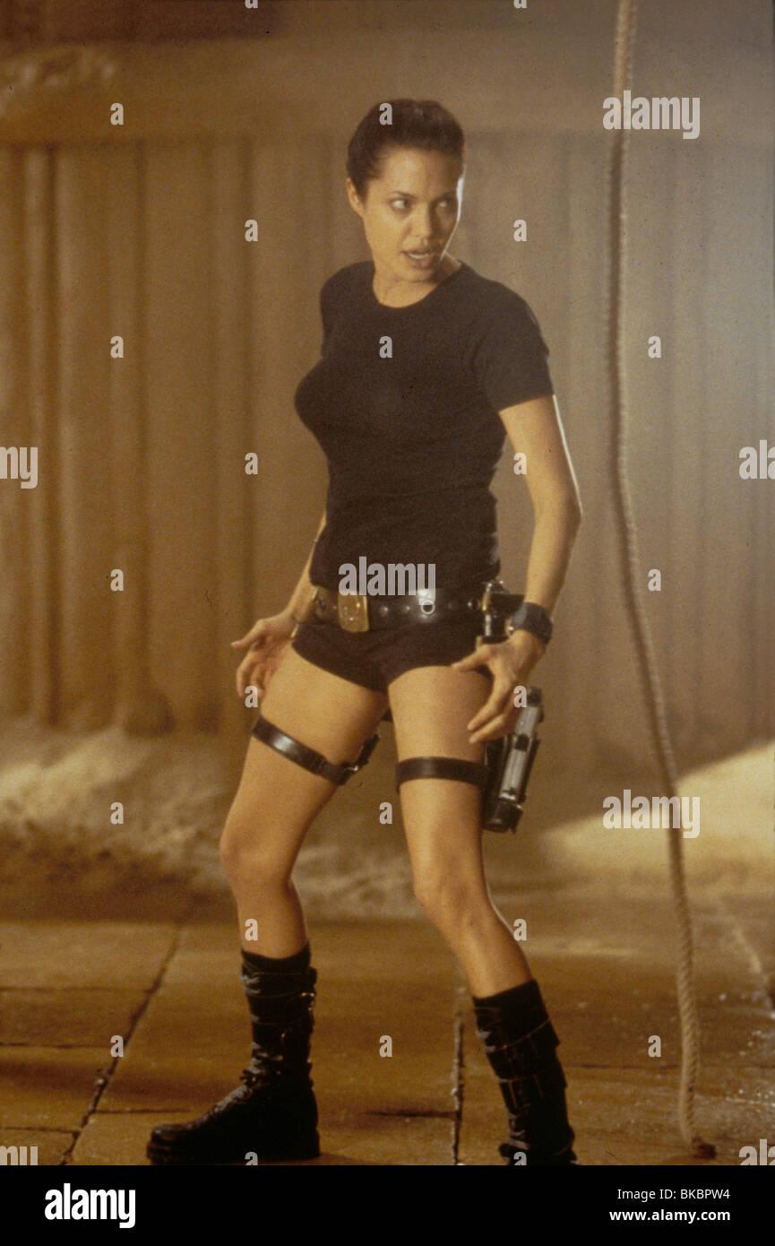 Lara Croft Tomb Raider 2001 Angelina Jolie Tbrr 070 Stock