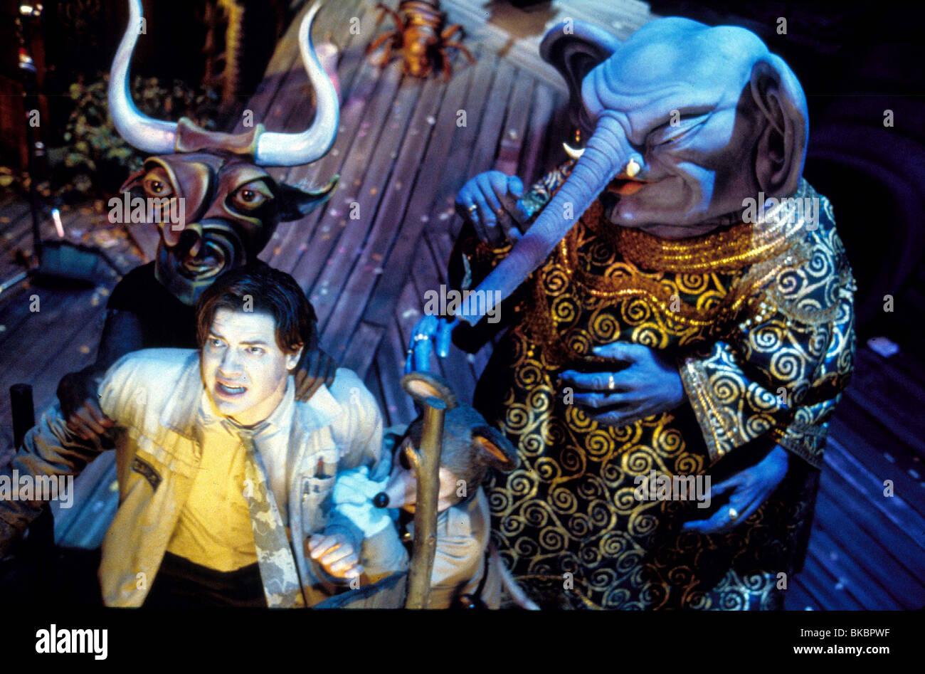 MONKEYBONE -2001 BRENDAN FRASER - Stock Image