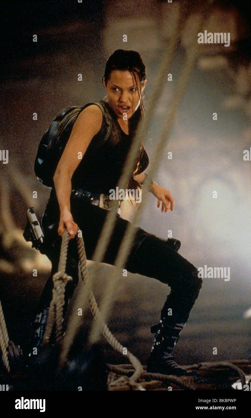 Lara Croft Tomb Raider 2001 Angelina Jolie Tbrr 173 Stock