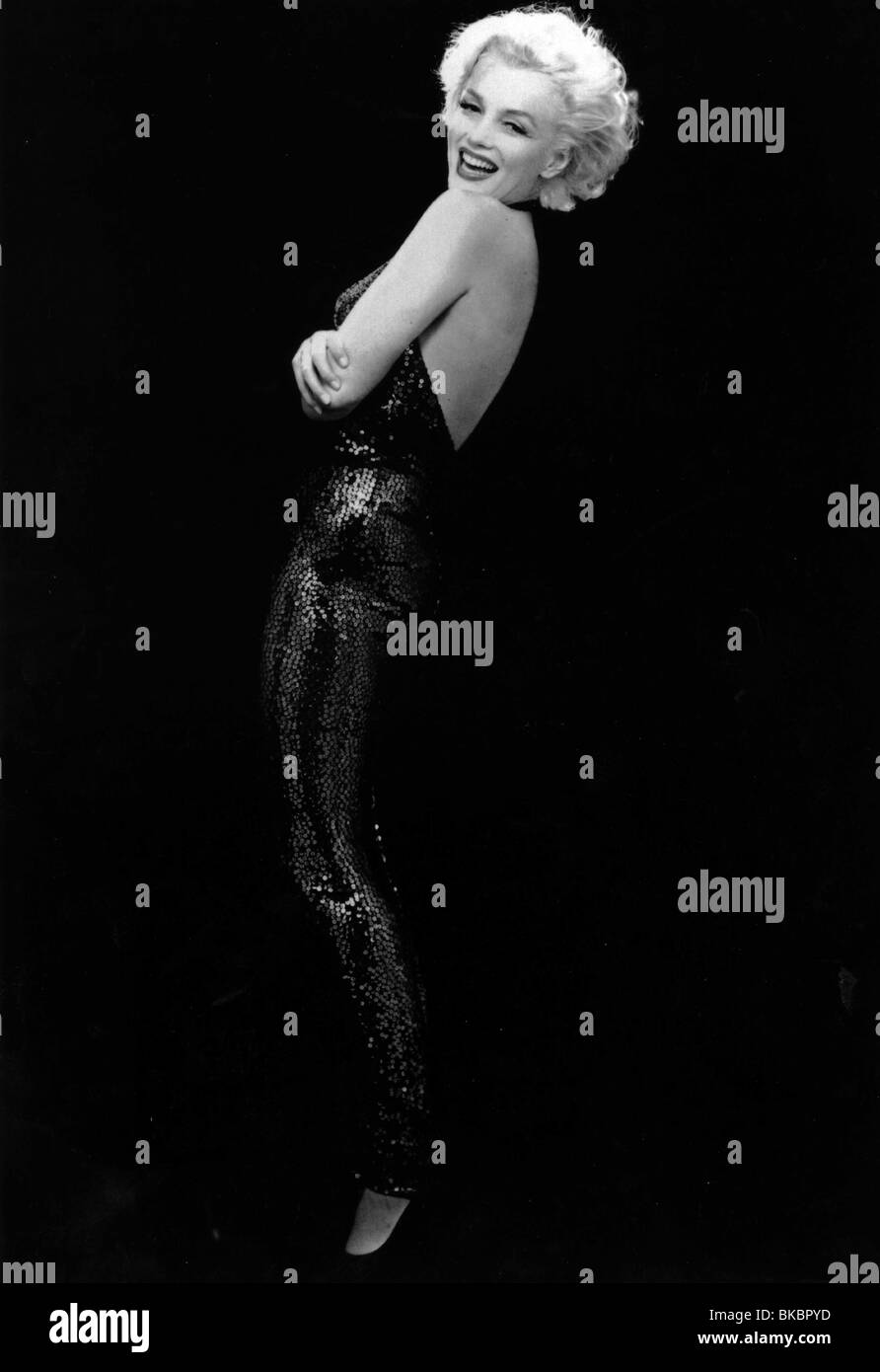 MARILYN MONROE PORTRAIT - Stock Image