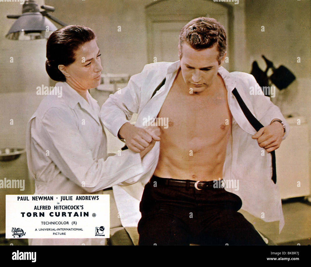 TORN CURTAIN (1966) PAUL NEWMAN TRCT 007FOH - Stock Image