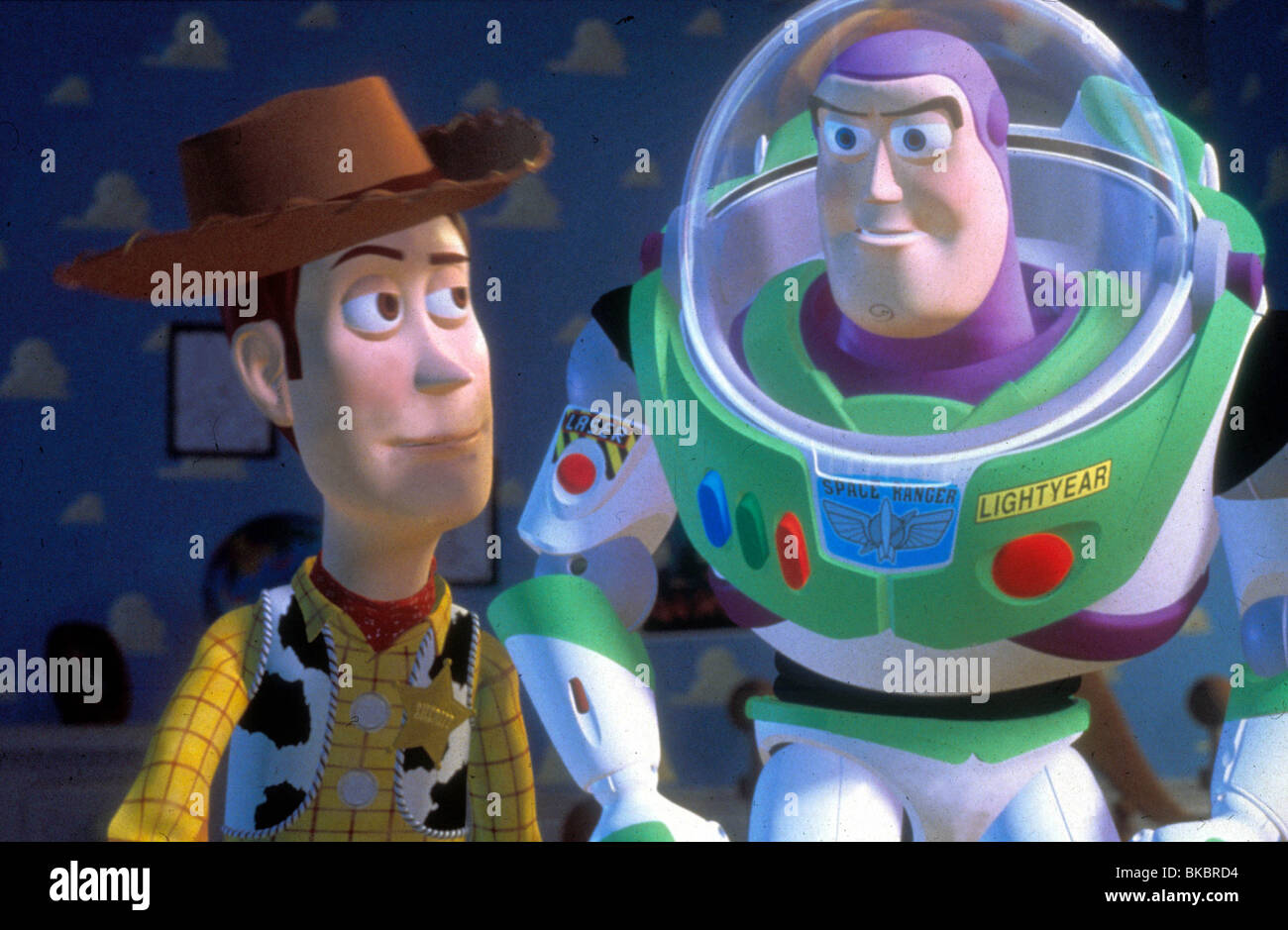 Toy Story 1995 Animated Woody Buzz Lightyear Tysy 108