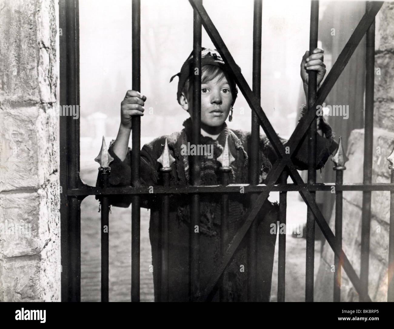 THE MUDLARK -1950 ANDREW RAY - Stock Image