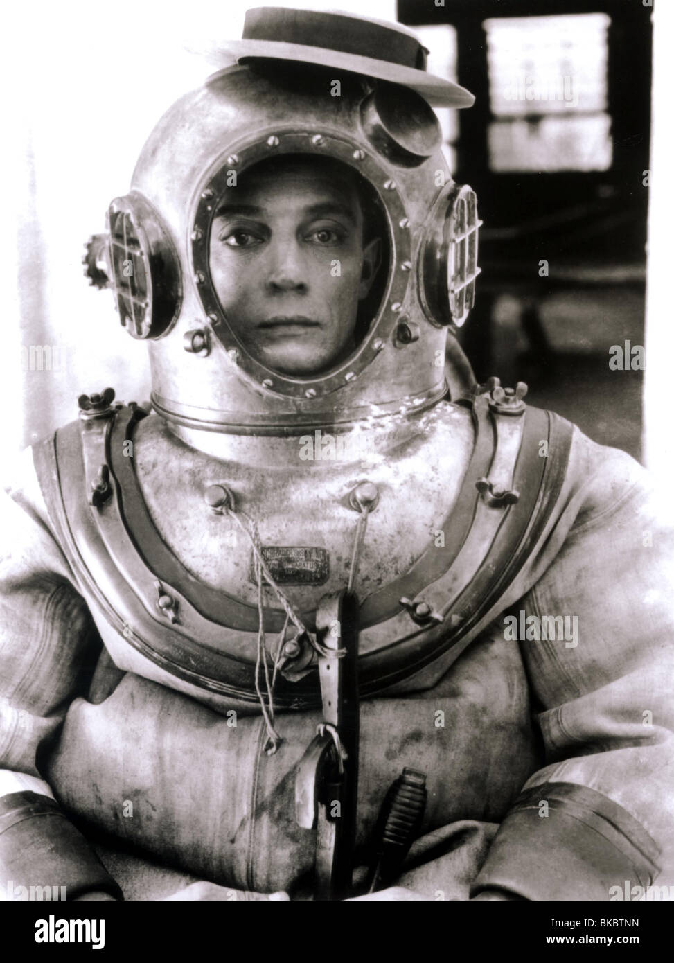 THE NAVIGATOR (1924) BUSTER KEATON NAVG 002P - Stock Image