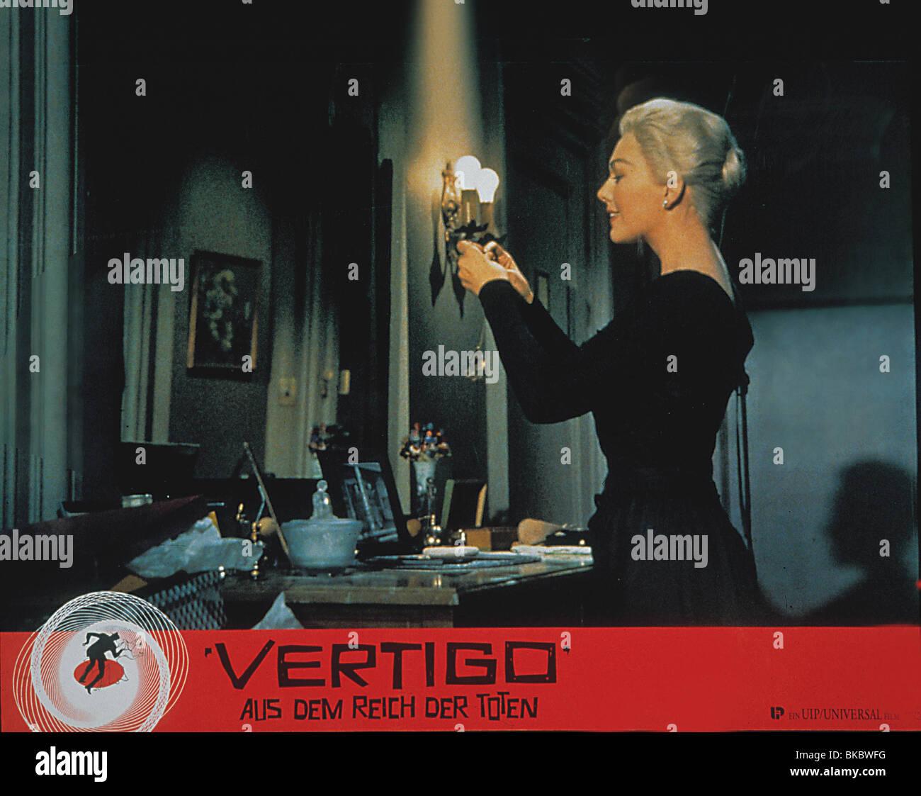 VERTIGO -1958 KIM NOVAK - Stock Image