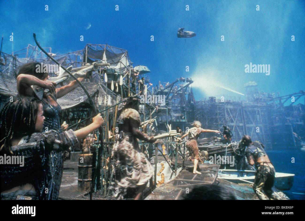 WATERWORLD -1995 - Stock Image
