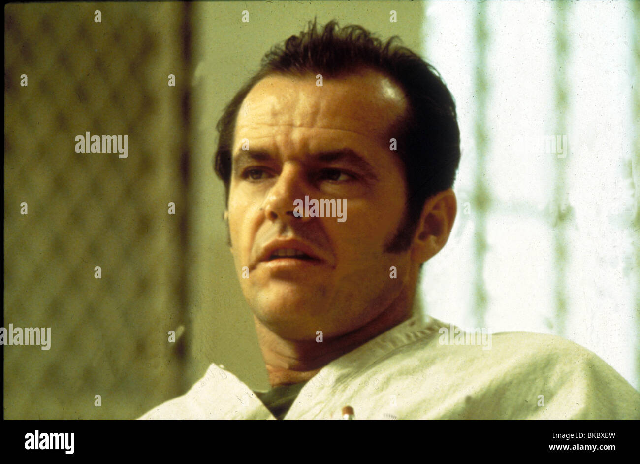 ONE FLEW OVER THE CUCKOO'S NEST(1975) JACK NICHOLSON OFC 002 - Stock Image