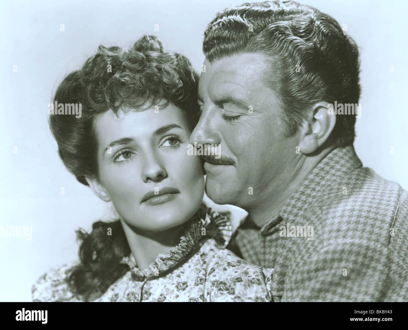 WHISPERING SMITH (1948) BRENDA MARSHALL, ROBERT PRESTON WHSM 003P - Stock Image