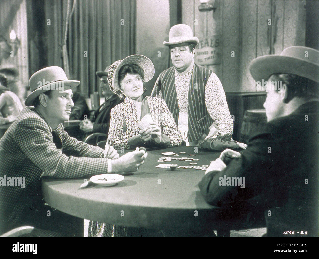 THE WISTFUL WIDOW OF WAGON GAP (1947) BUD ABBOTT, MARJORIE MAIN, LOU COSTELLO WWWG 001 - Stock Image