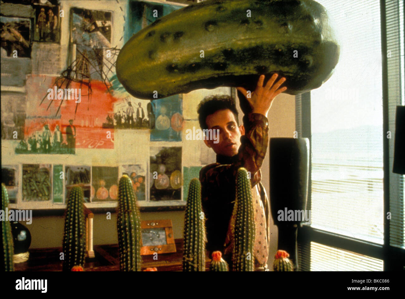THE PICKLE -1993 BARRY MILLER - Stock Image