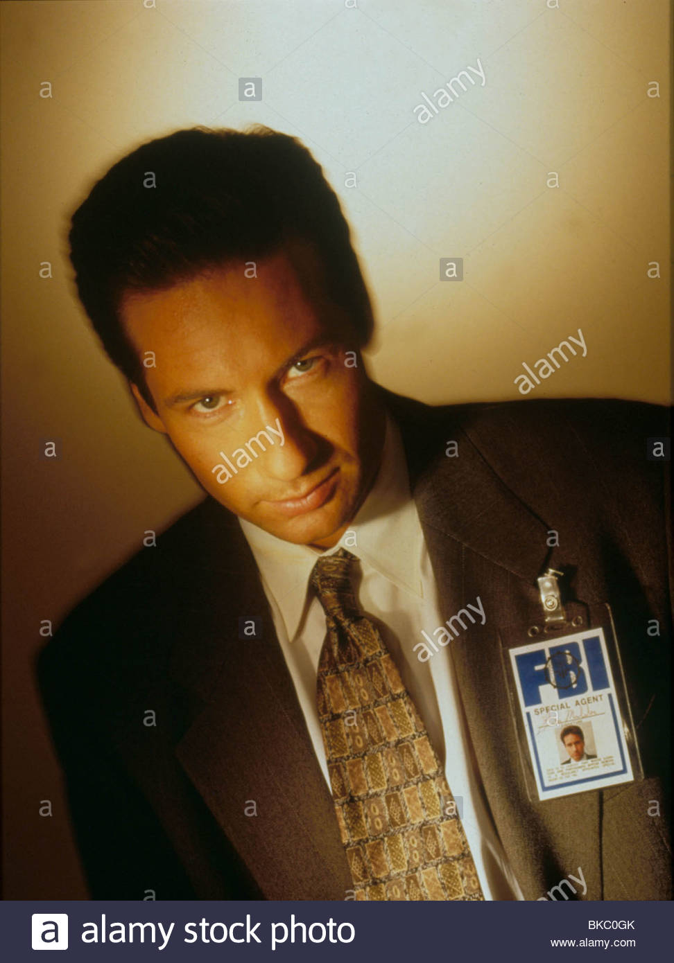 THE X FILES (TV) DAVID DUCHOVNY XFIL 125 - Stock Image