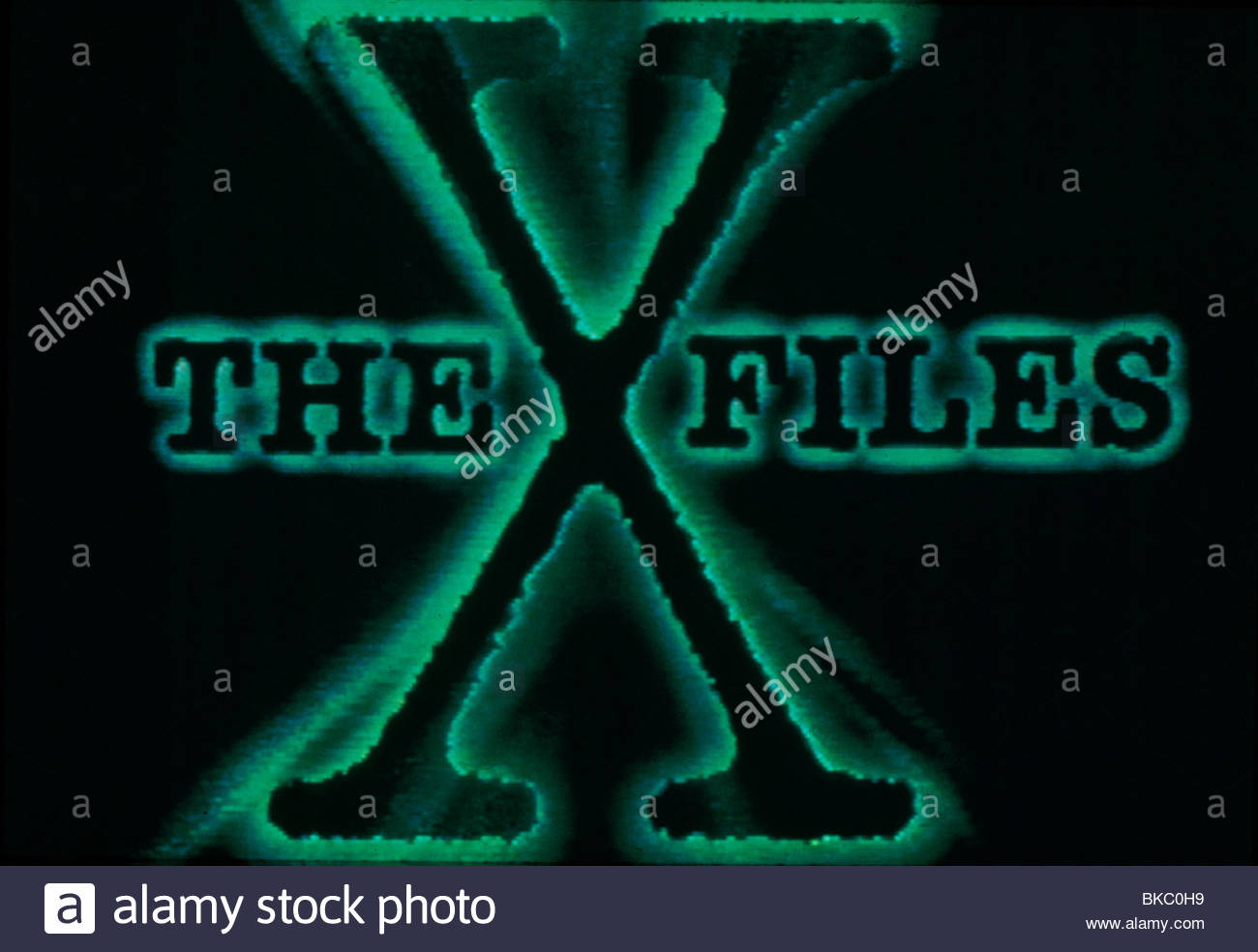 THE X-FILES (TV) POSTER - Stock Image