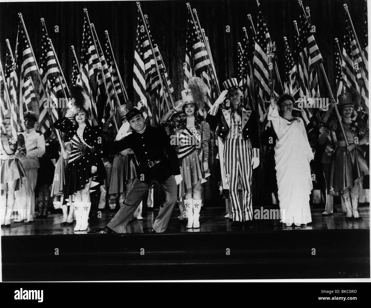 YANKEE DOODLE DANDY(1942) JAMES CAGNEY YDD 001P - Stock Image