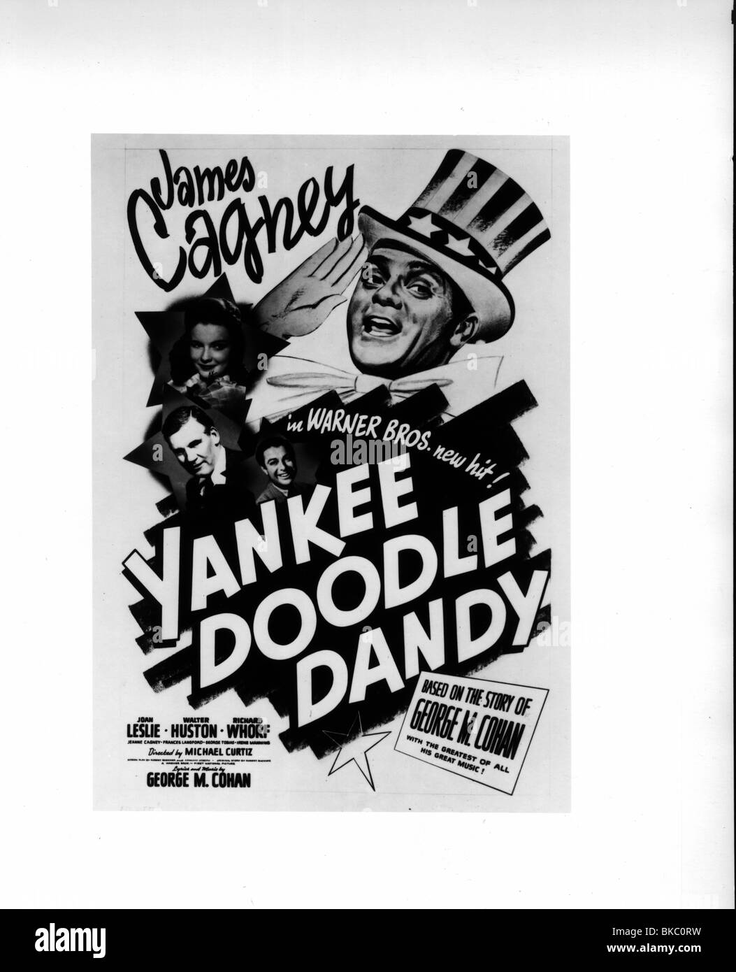 YANKEE DOODLE DANDY(1942) POSTER YDD 008P MOVISTORE COLLECTION LTD - Stock Image