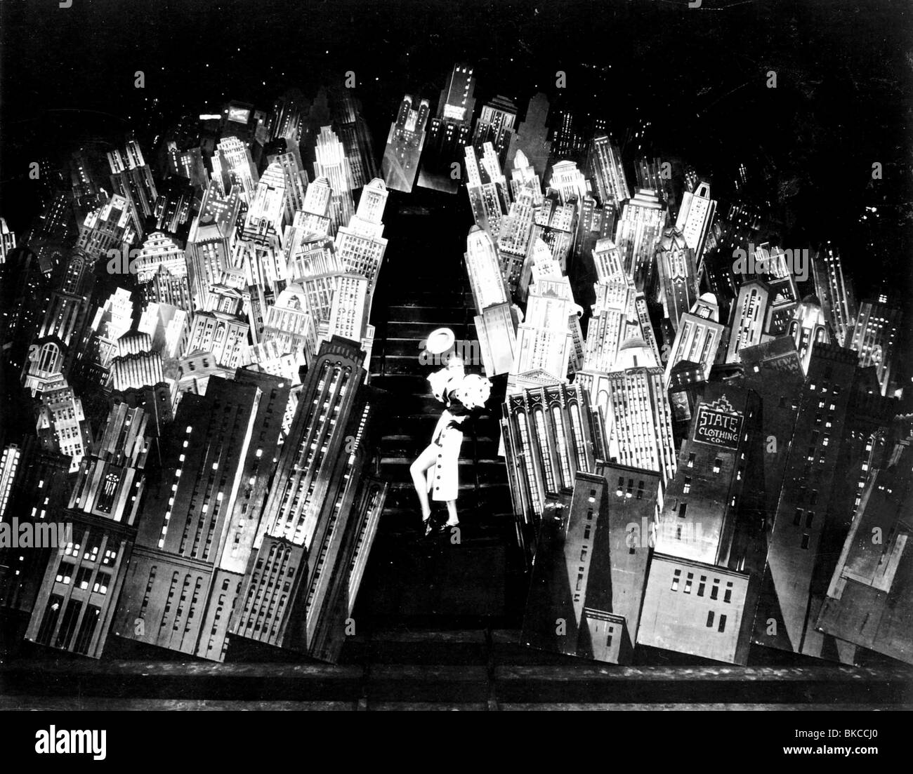 42ND STREET -1933 RUBY KEELER - Stock Image
