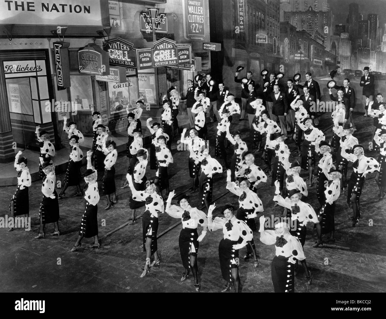 42ND STREET -1933 - Stock Image