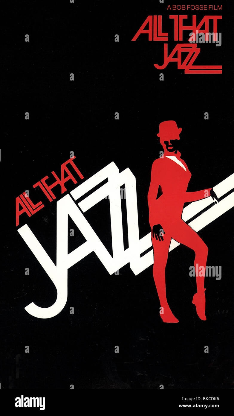 ALL THAT JAZZ -1979 POSTER - Stock Image