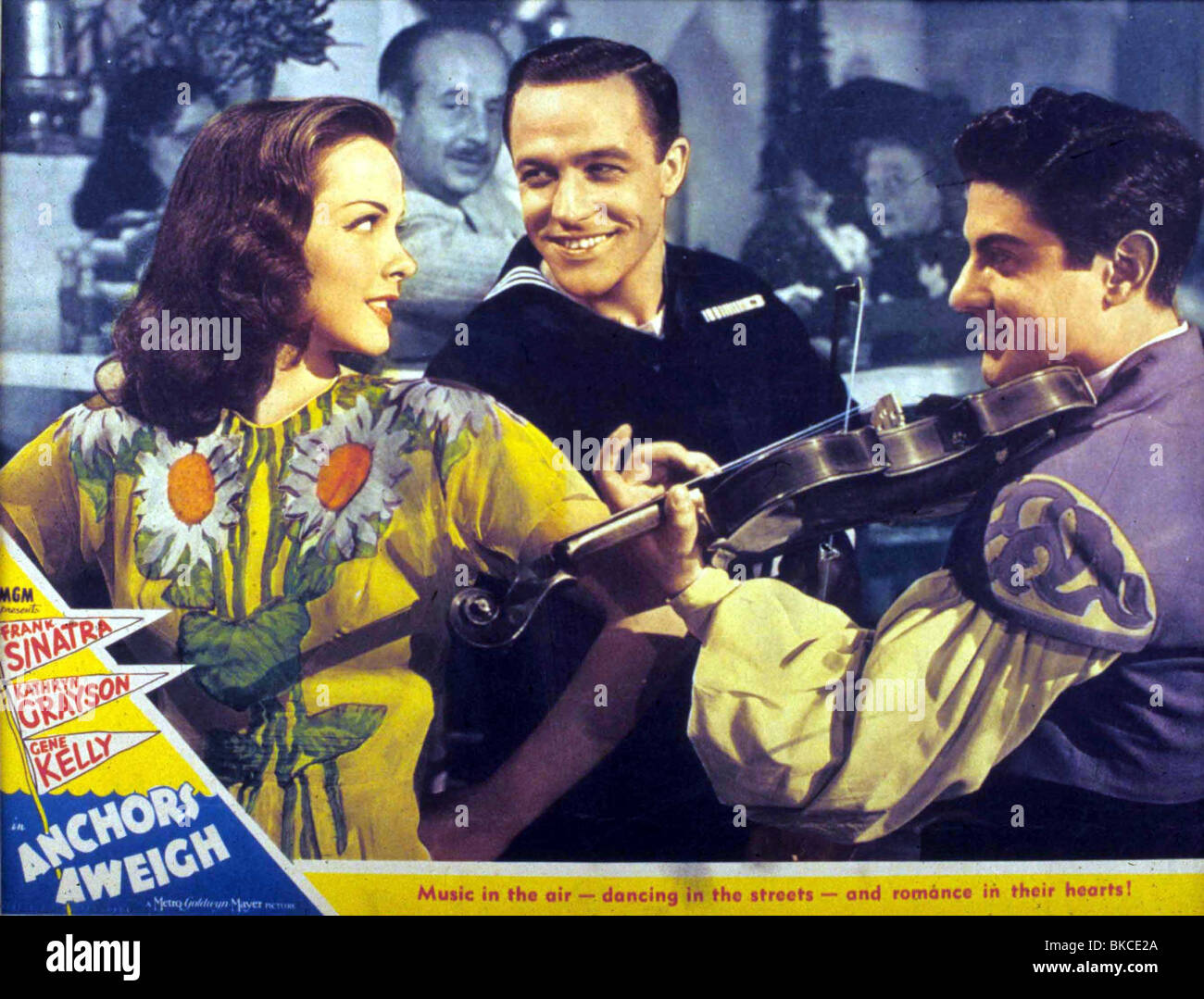 ANCHORS AWEIGH (1945) KATHRYN GRAYSON, GENE KELLY ANCA 008 - Stock Image