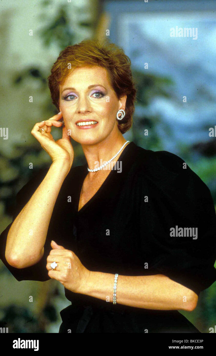 JULIE ANDREWS PORTRAIT - Stock Image