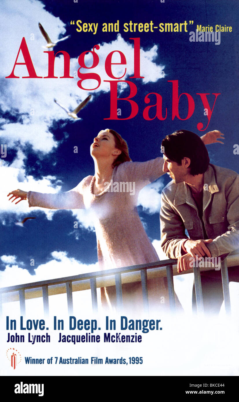 ANGEL BABY -1995 POSTER - Stock Image