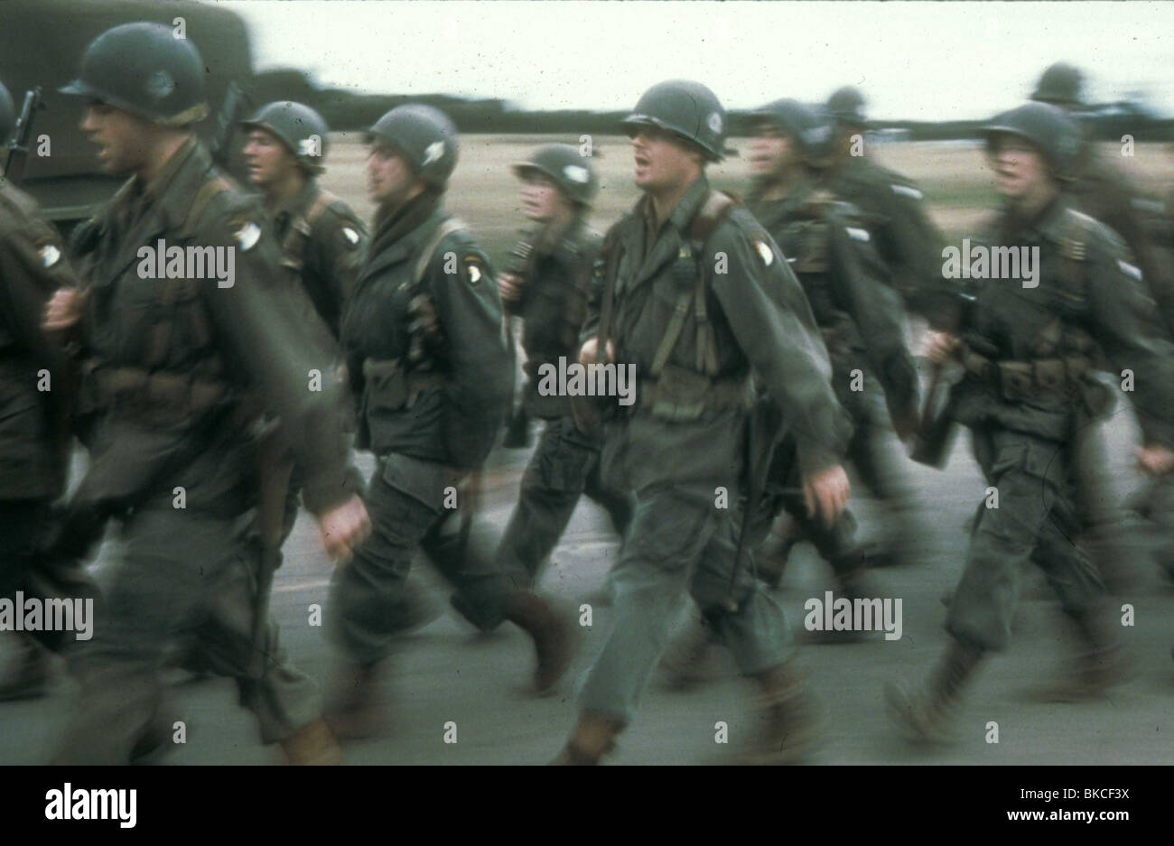 BAND OF BROTHERS (TV) -2001 - Stock Image