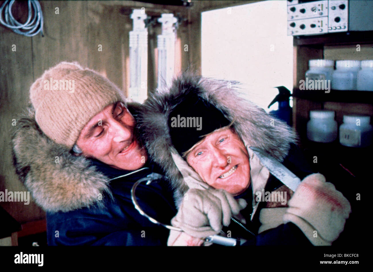 BEAR ISLAND -1979 LLOYD BRIDGES - Stock Image