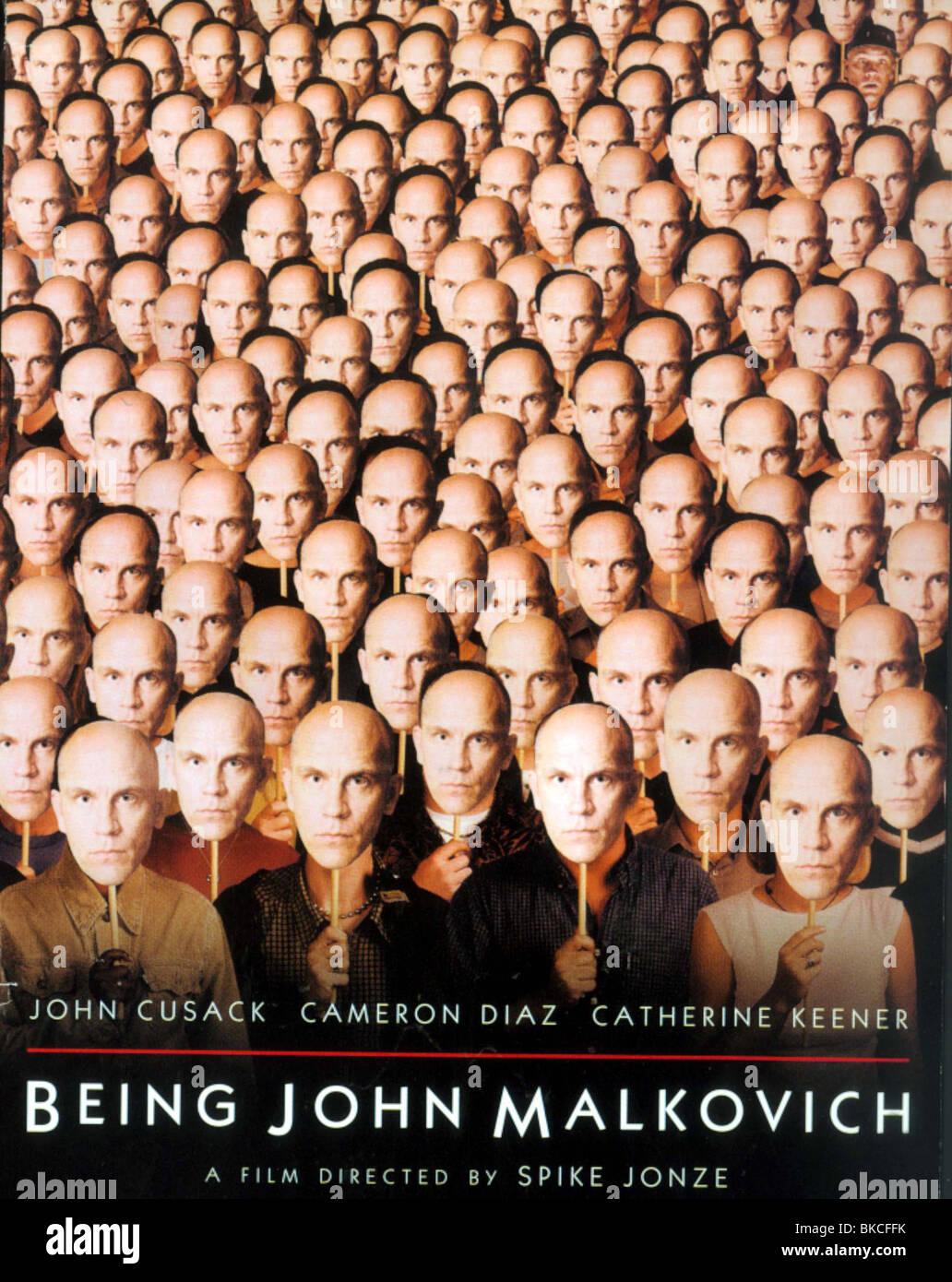 BEING JOHN MALKOVICH (1999) POSTER BJMK 001VS - Stock Image