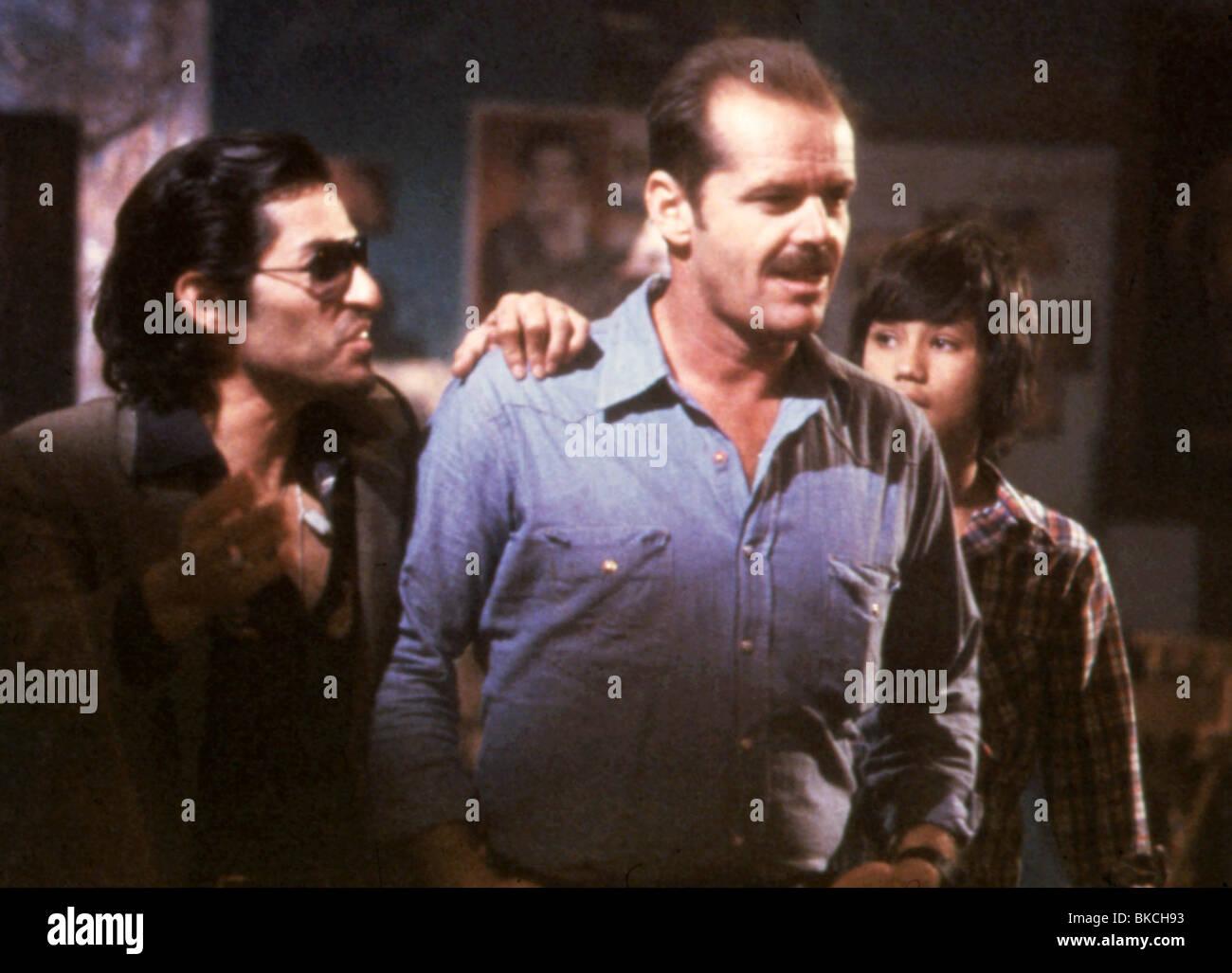 THE BORDER (1981) MIKE GOMEZ, JACK NICHOLSON BOR 012 - Stock Image