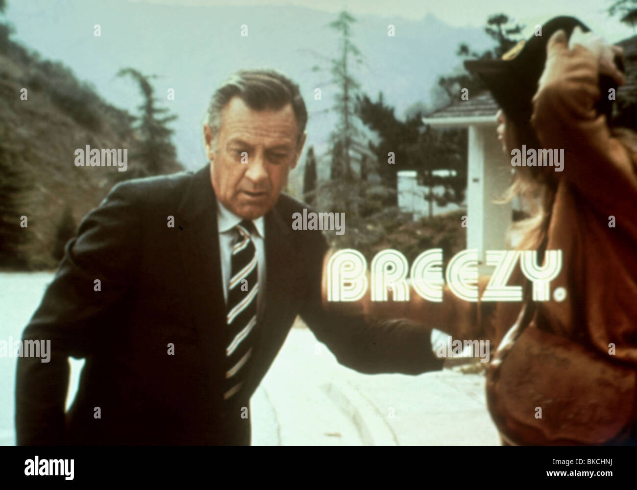BREEZY (1973) WILLIAM HOLDEN, KAY LENZ BRZY 001 - Stock Image