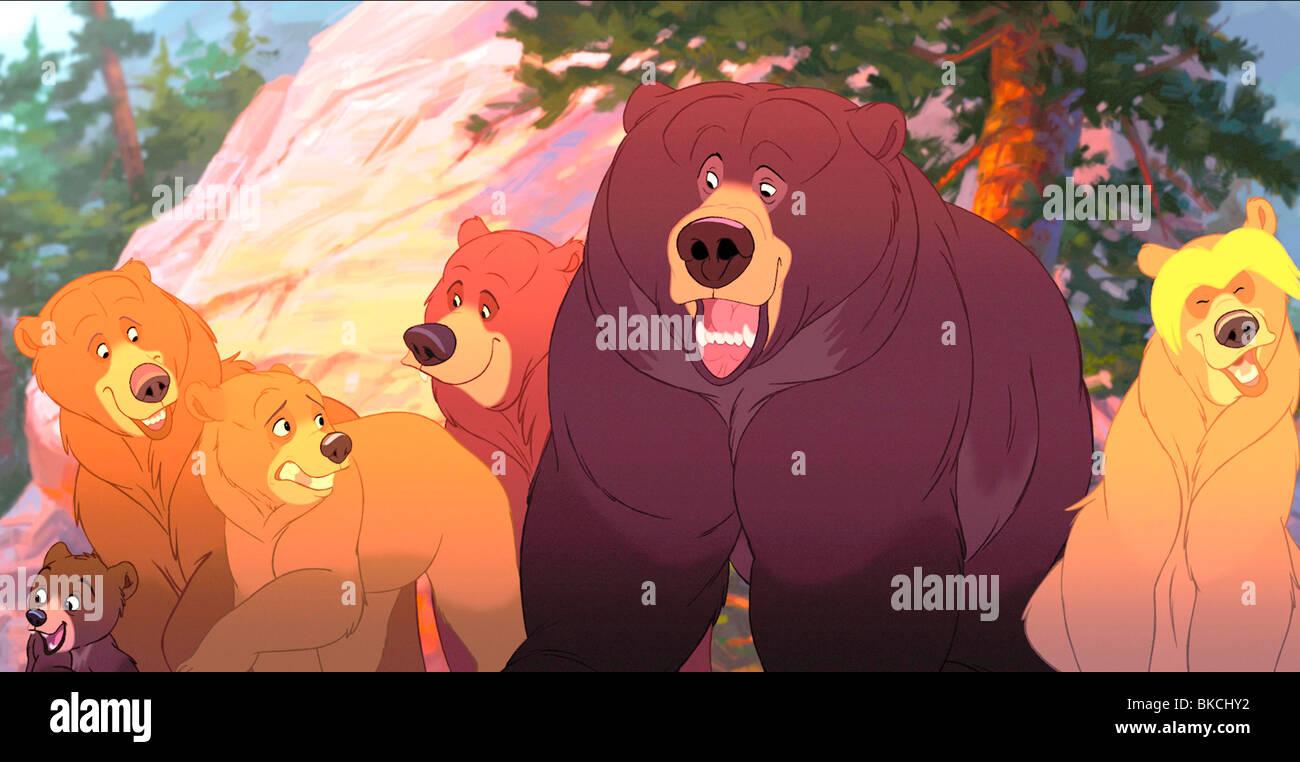 Brother Bear 2003 Animated Credit Disney Koda Character Kenai