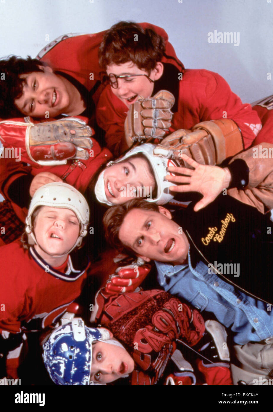 CHAMPIONS (1992) THE MIGHTY DUCKS (ALT) EMILIO ESTEVEZ CHMP 004 - Stock Image