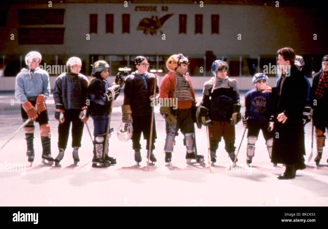 CHAMPIONS (1992) THE MIGHTY DUCKS (ALT) EMILIO ESTEVEZ CHMP 005 - Stock Image