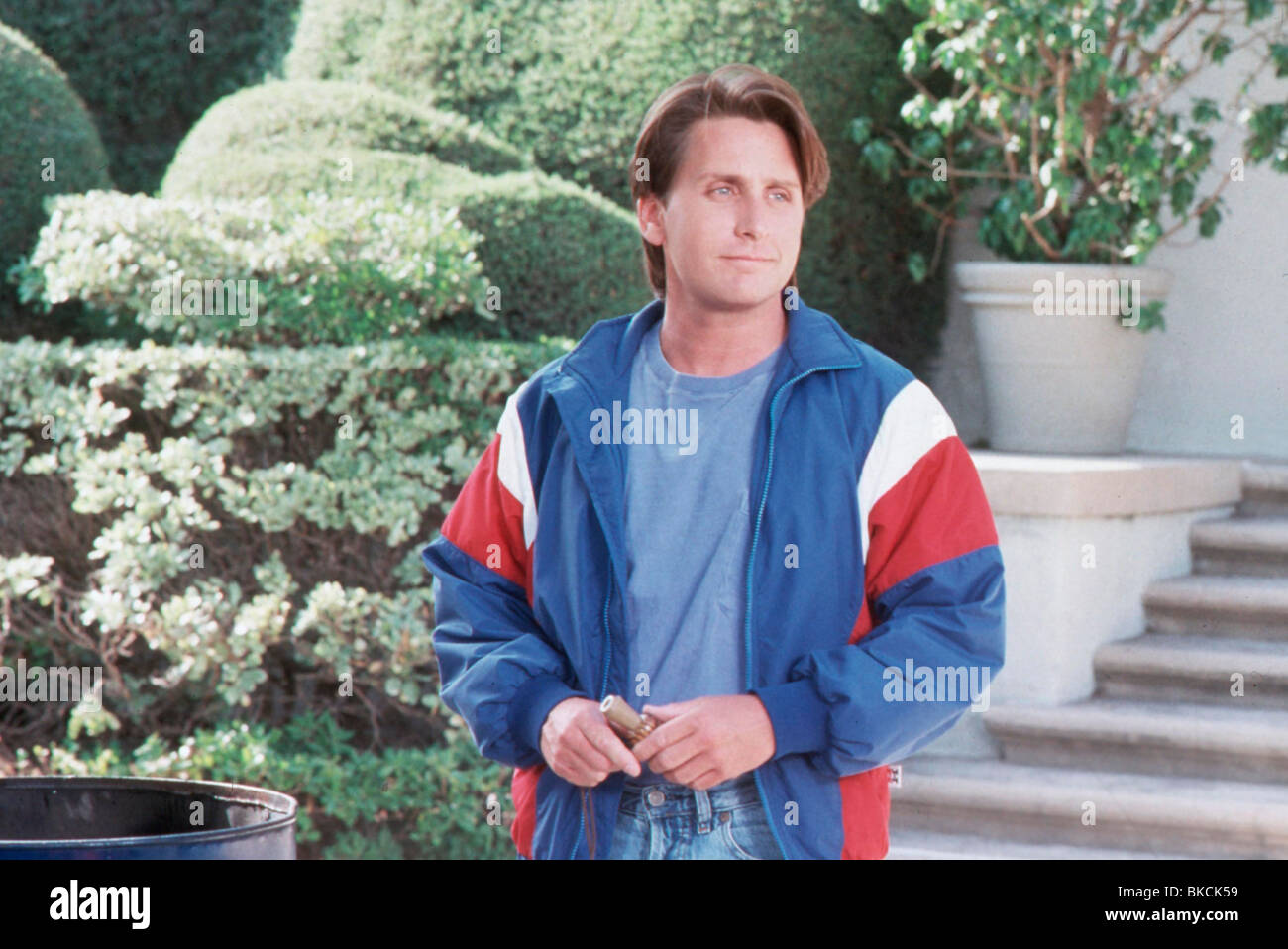 CHAMPIONS (1992) THE MIGHTY DUCKS (ALT) EMILIO ESTEVEZ CHMP 026 - Stock Image