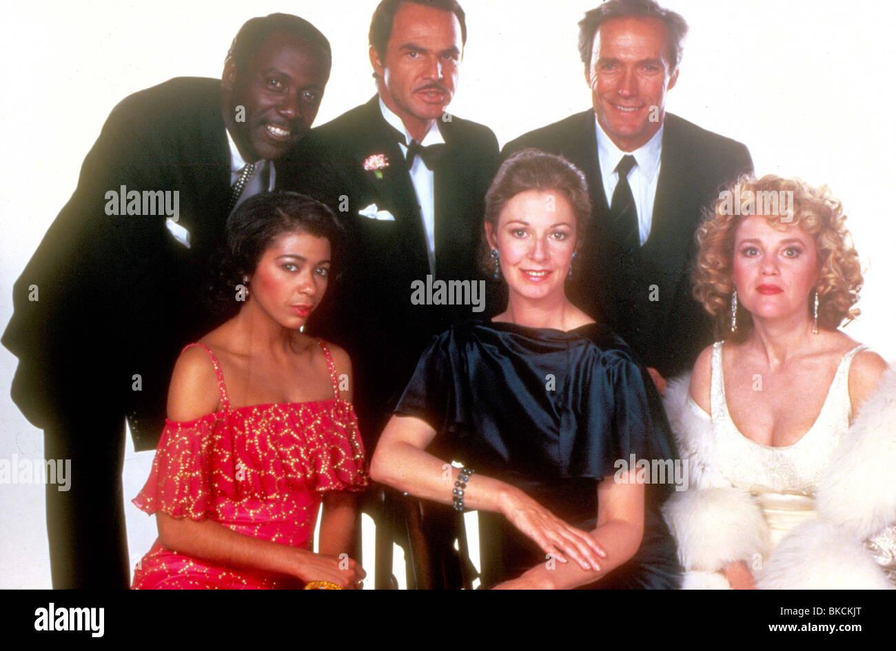 CITY HEAT (1984) RICHARD ROUNDTREE, IRENE CARA, BURT REYNOLDS, JANE ALEXANDER, CLINT EASTWOOD, MADELINE KAHN CIH - Stock Image
