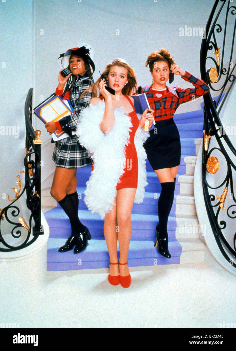 CLUELESS -1995 POSTER - Stock Image