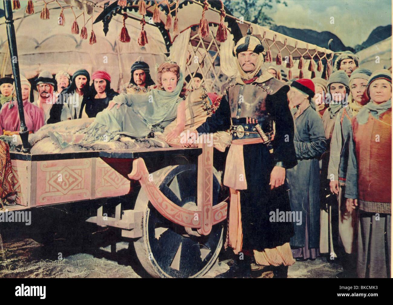 THE CONQUEROR (1955) SUSAN HAYWARD CONQ 001FOH - Stock Image