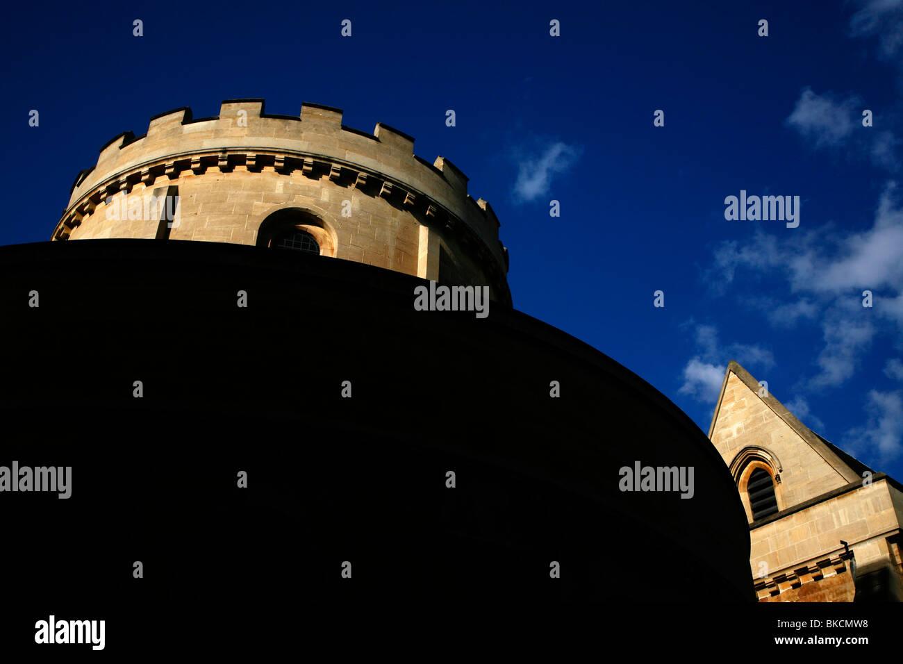 Temple Church, Inner Temple, Inns of Court, London, UK - Stock Image