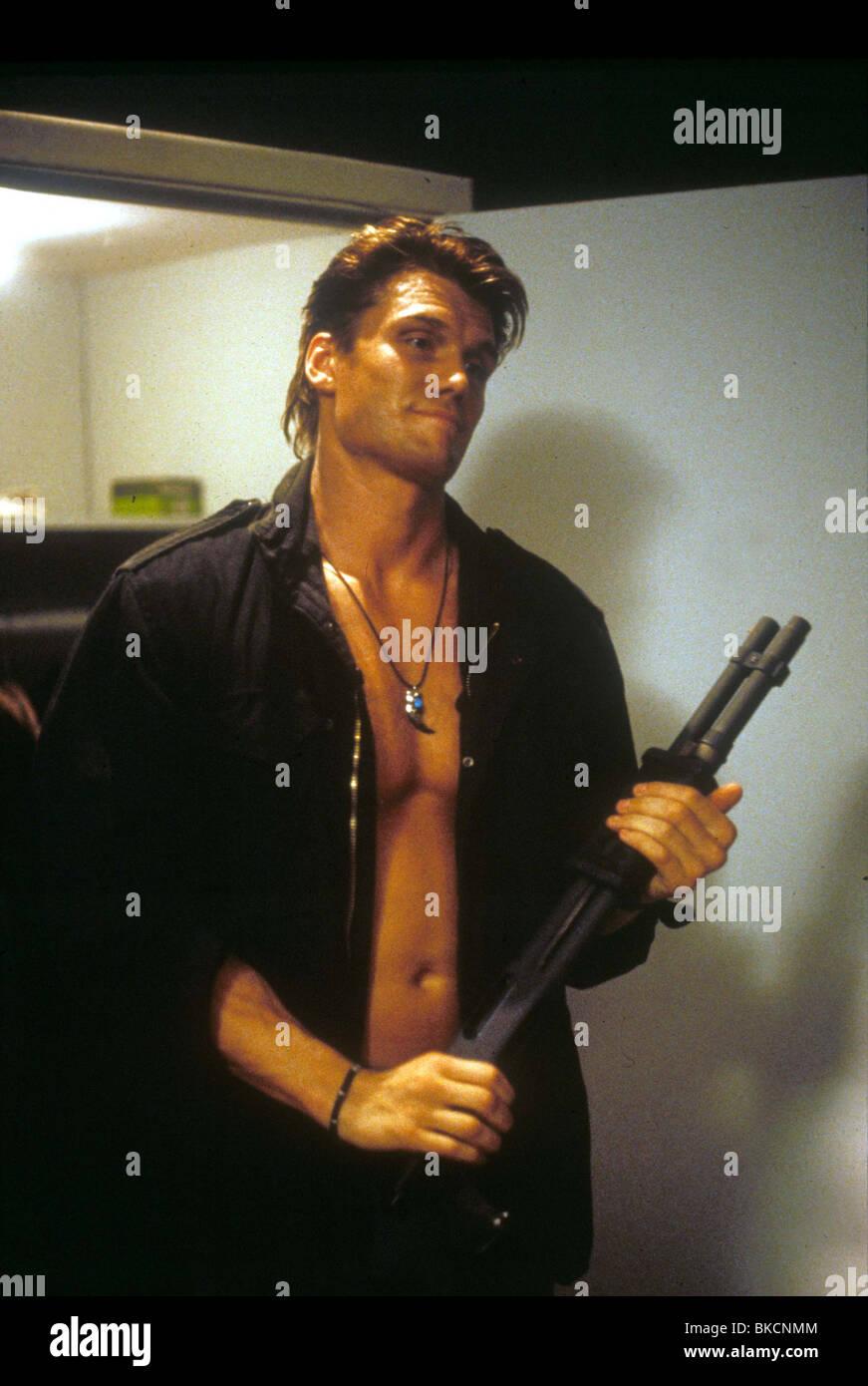DARK ANGEL -1990 DOLPH LUNDGREN - Stock Image