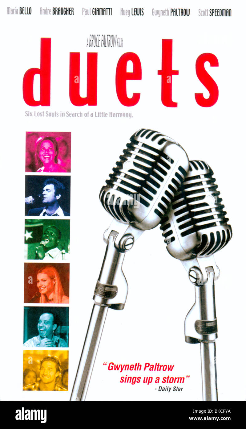 DUETS -2000 POSTER - Stock Image