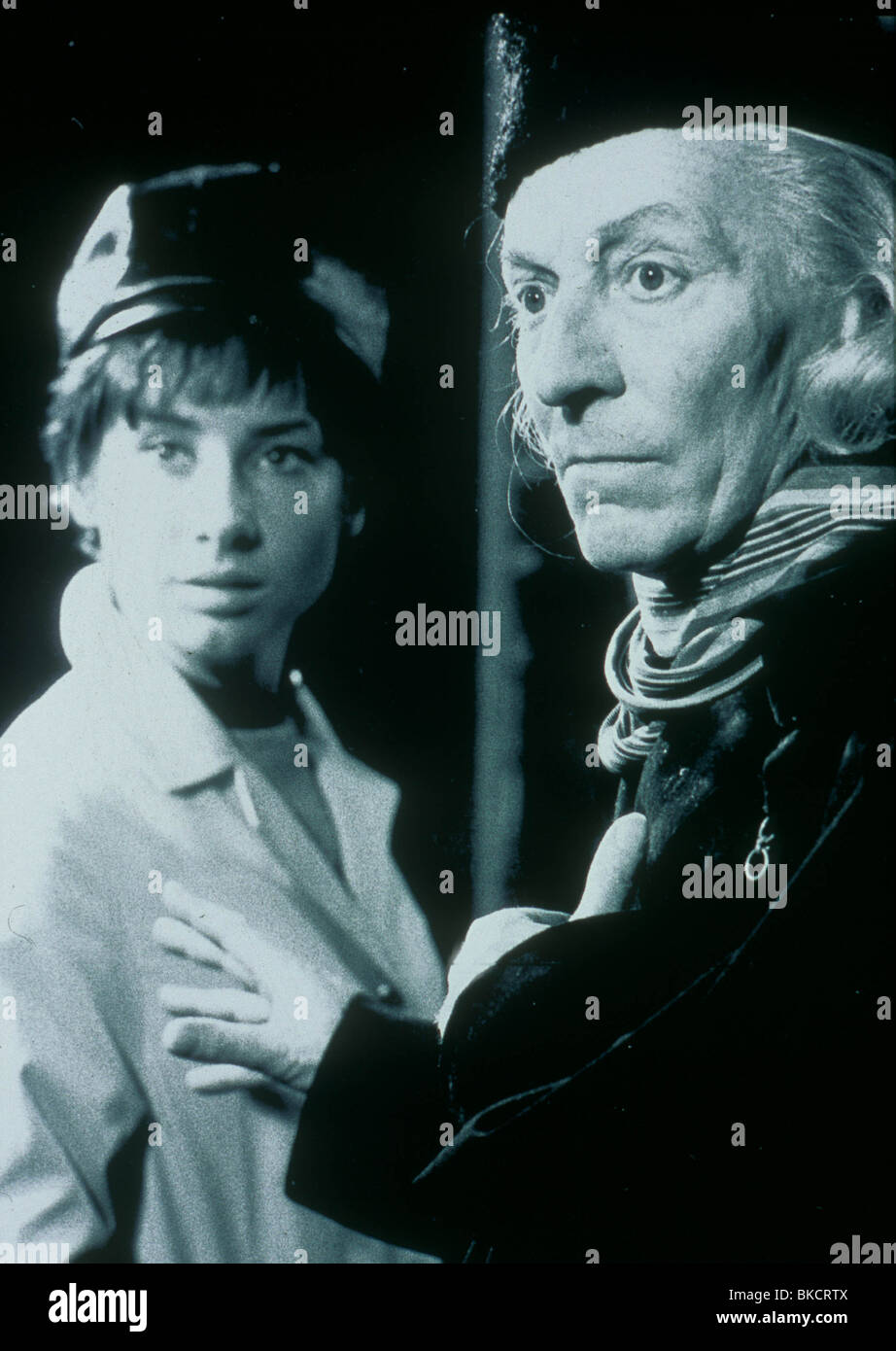 DR WHO (TV) DOCTOR WHO (ALT) CAROL ANN FORD, WILLIAM HARTNELL DRW 009 - Stock Image