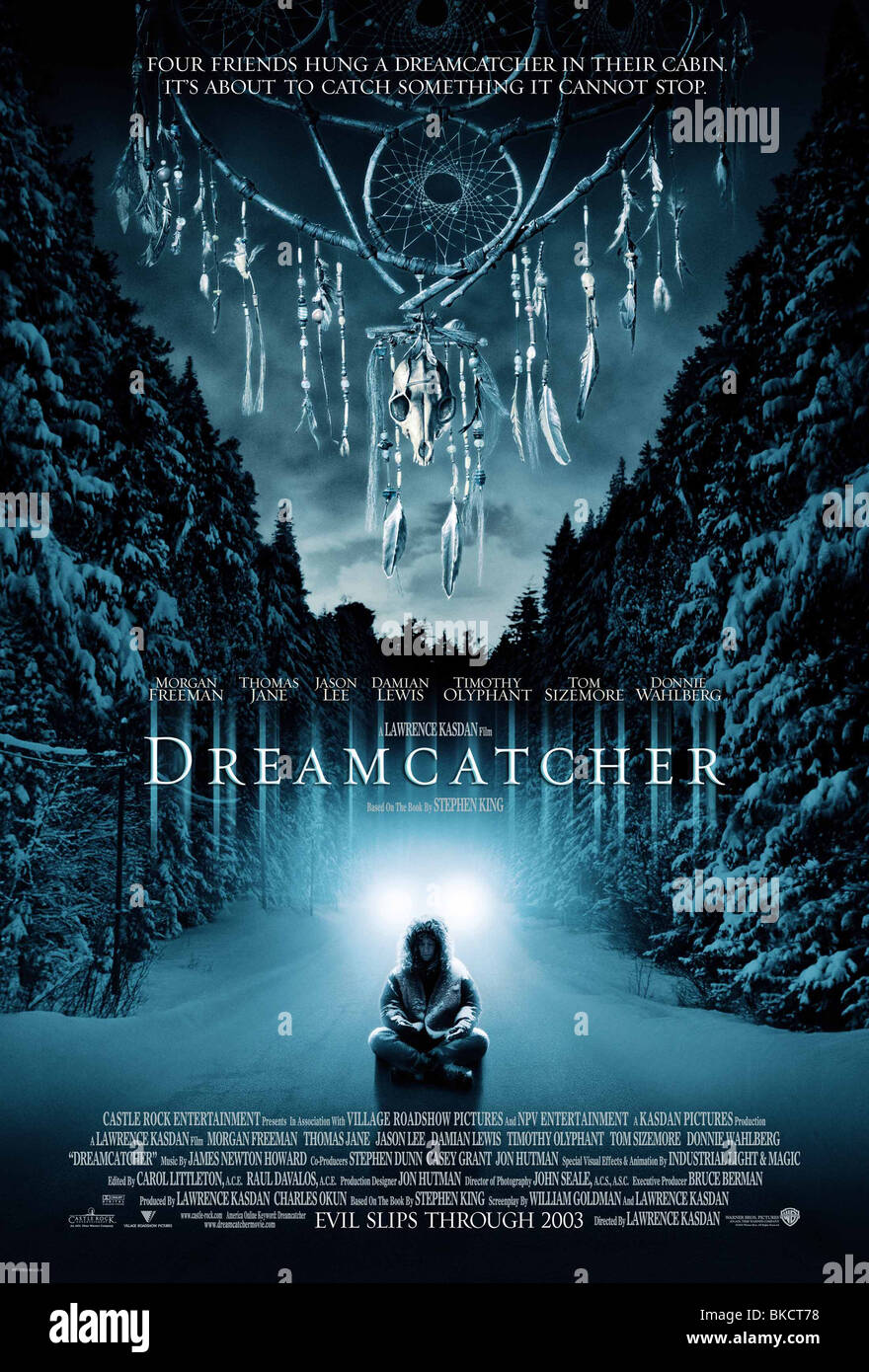 DREAMCATCHER -2003 POSTER - Stock Image