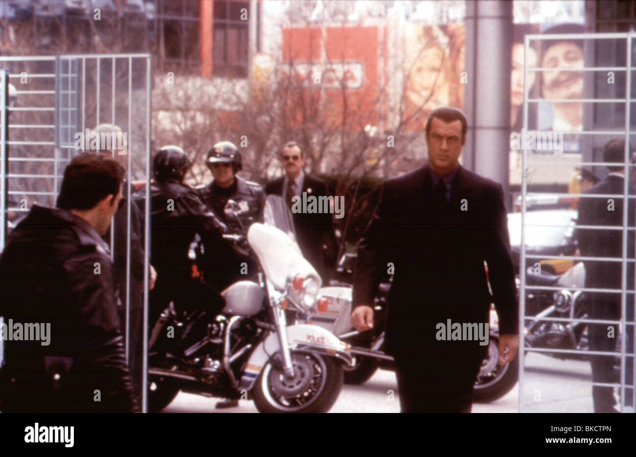 EXIT WOUNDS -2001 STEVEN SEAGAL - Stock Image