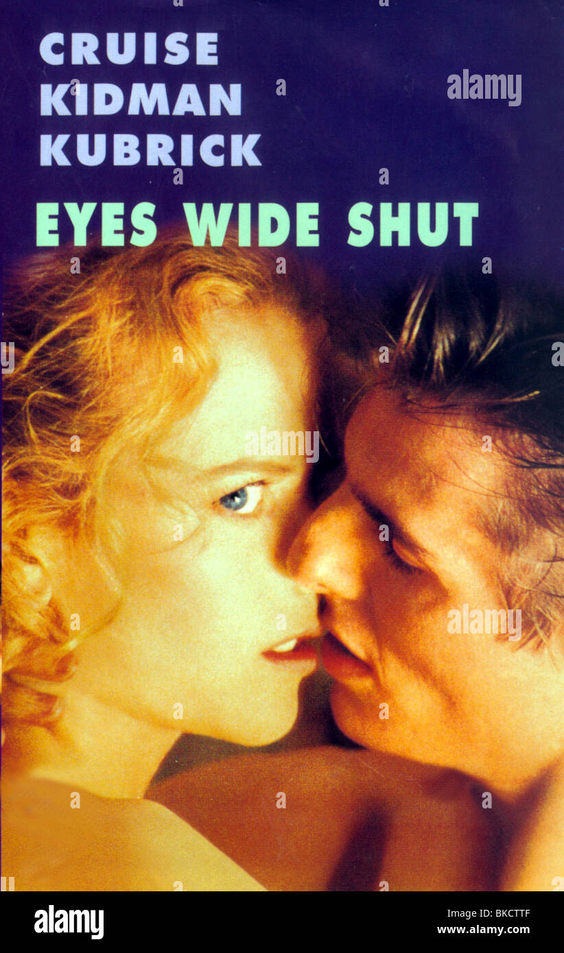 EYES WIDE SHUT -1999 POSTER - Stock Image
