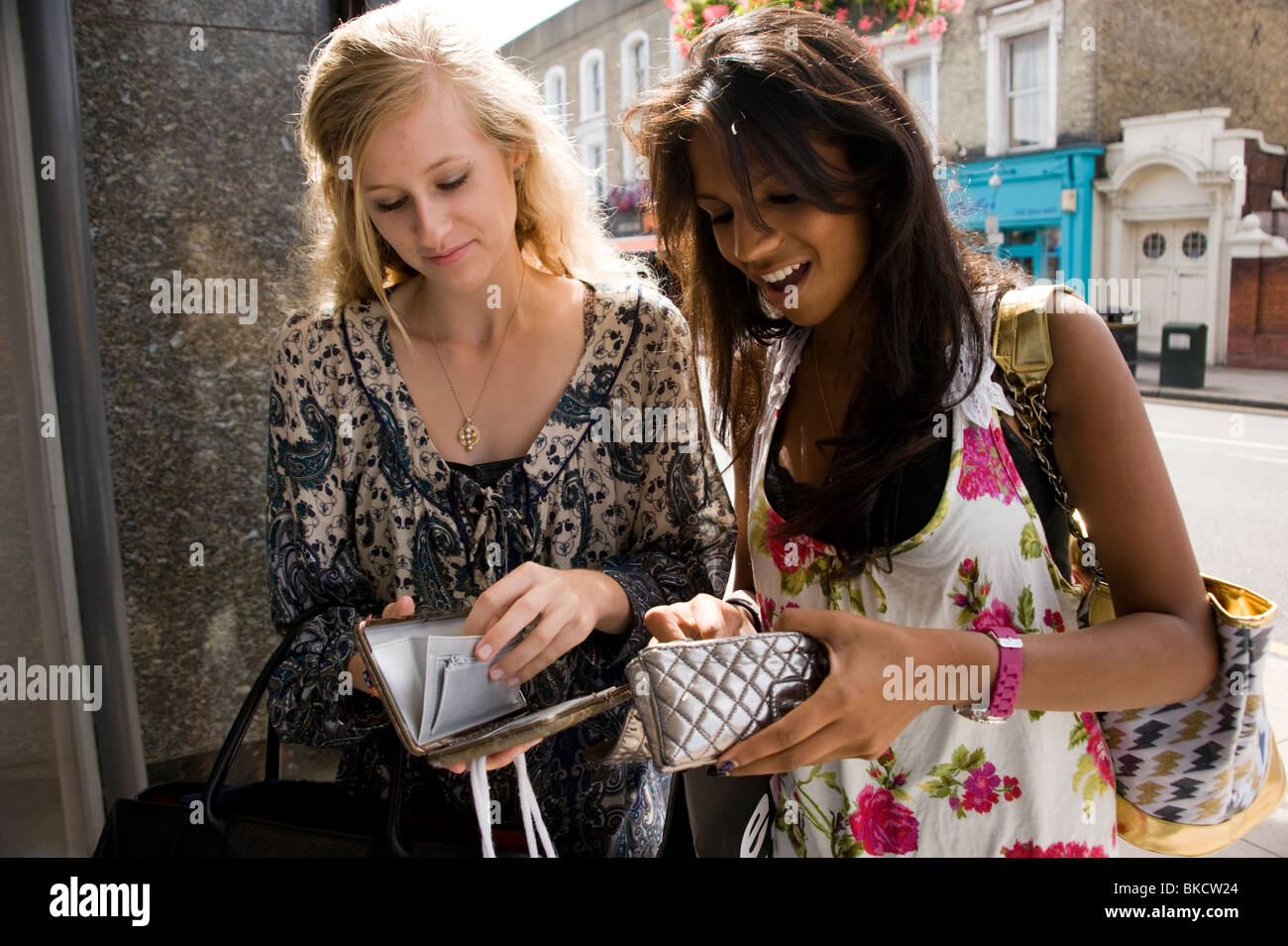 Girls looking for money