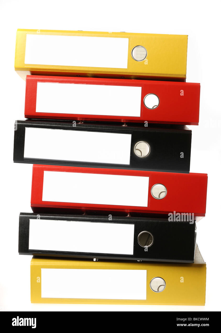 Document file, box file, office supply, paperwork. filing folder. - Stock Image