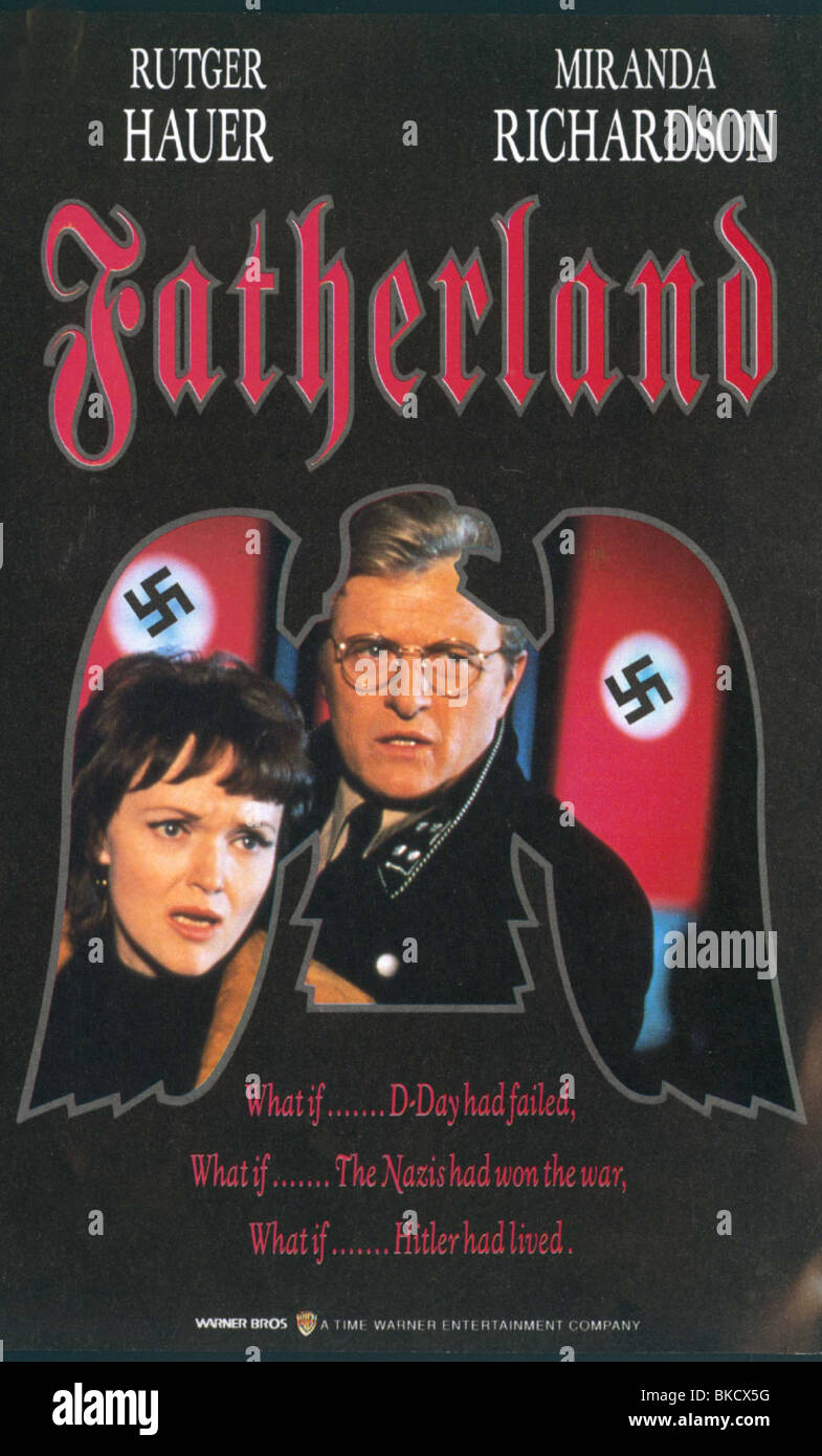 FATHERLAND (TVM) -1994 POSTER - Stock Image