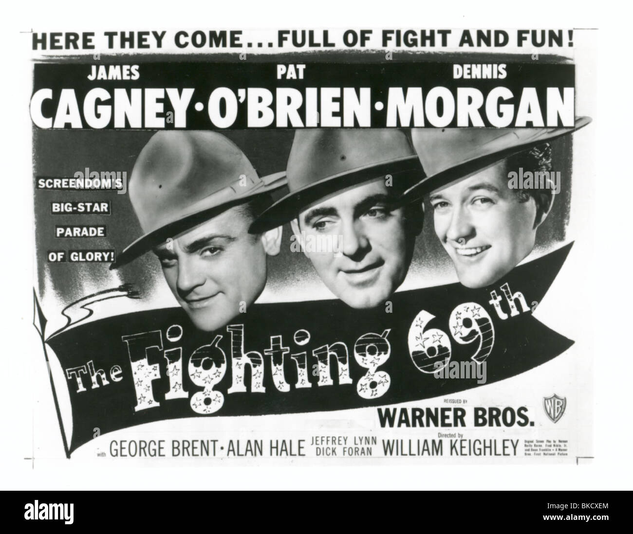 THE FIGHTING 69TH (1940) POSTER FG69 002P - Stock Image