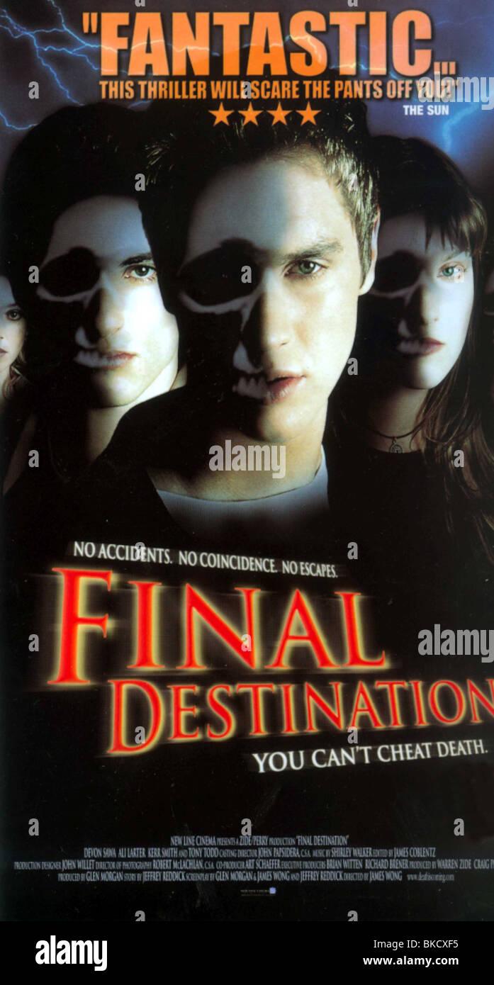 FINAL DESTINATION (2000) POSTER FDES 001VS - Stock Image