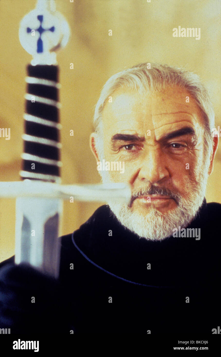 FIRST KNIGHT -1995 SEAN CONNERY - Stock Image