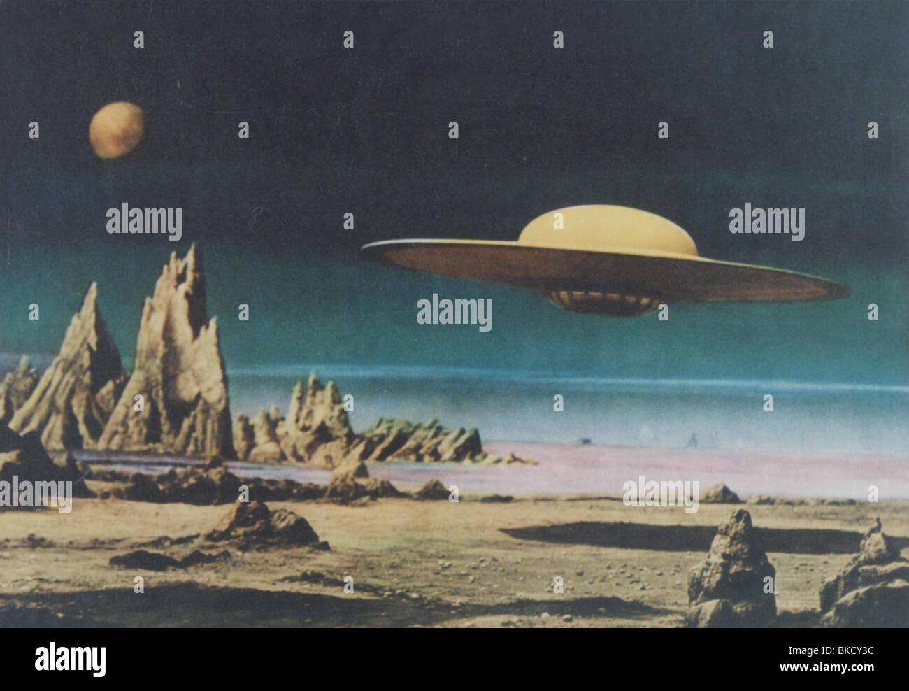FORBIDDEN PLANET -1956 - Stock Image